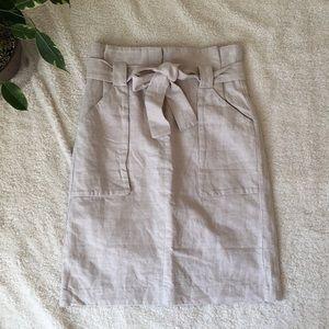 - hm khaki skirt